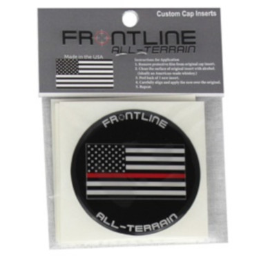 Frontline Cap Inserts Flag (Red)
