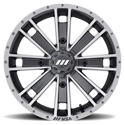MSA AMBUSH 14X7 DARK SILVER MACHINED