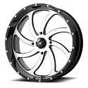 MSA M36 Switch 18x7 Gloss Black Machined