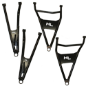 "Front Forward Upper & Lower Control Arms Can-Am Maverick X3 (72"" models)"