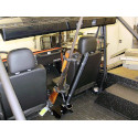 Floor Mounted Gun Rack for the Mahindra Roxor Diesel 4X4