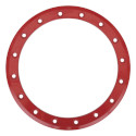 15 Inch SB-3 Beadlock Color Ring Red
