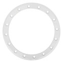 15 Inch SB-3 Beadlock Color Ring White